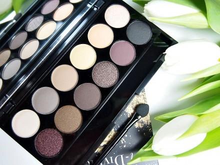 Палетка теней Sleek MakeUp Eyeshadow Palette I-Divine 12 тонов AU Naturel: фото