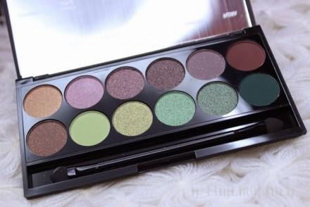 Палетка теней Sleek MakeUp Eyeshadow Palette I-Divine 12 тонов Garden of Eden 447: фото