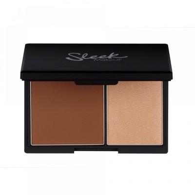 Палетка для структурирования лица Sleek MakeUp Face Contour Kit Medium 885: фото
