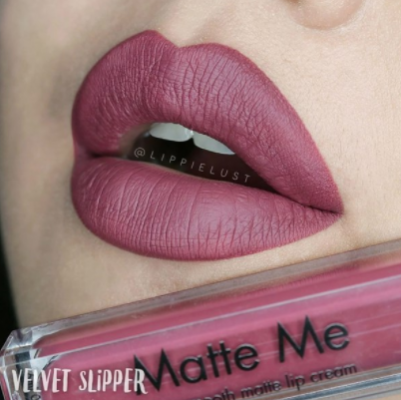 Блеск для губ Sleek MakeUp MATTE ME 1039 Velvet Slipper: фото
