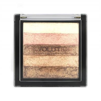 Хайлайтер Makeup Revolution Vivid Shimmer Brick Radiant: фото