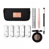 Набор для ухода за бровями Anastasia Beverly Hills 5-Element Brow Kit ABH01-57003 DARK BROWN: фото