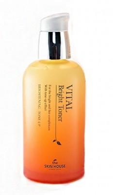 Тонер витаминный осветляющий THE SKIN HOUSE Vital bright toner 130 мл: фото