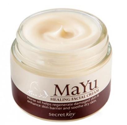 Крем для лица с лошадиным жиром SECRET KEY MAYU Healing Facial Cream: фото