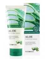 Пенка для умывания с алоэ FoodaHolic Aloe Smoothie Foam Cleansing 180мл: фото