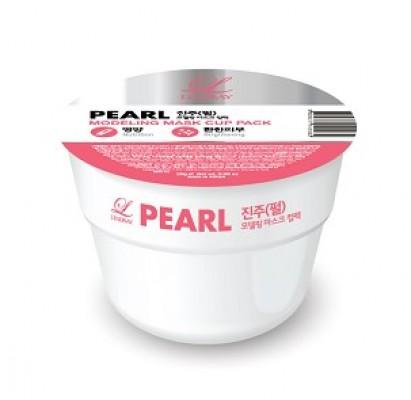 Альгинатная маска с жемчугом LINDSAY Pearl Disposable Modeling Mask Cup Pack 28г.: фото