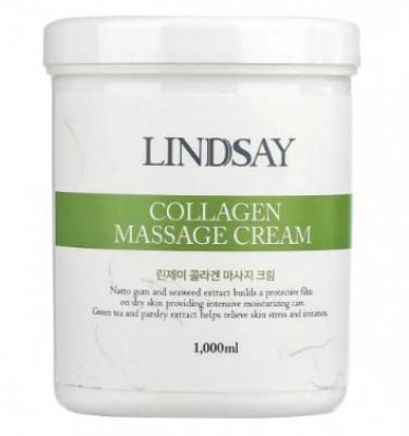 Массажный крем LINDSAY Collagen massage cream 1000 мл: фото