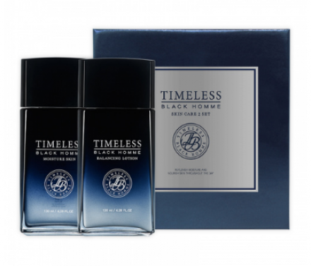 Набор по уходу за кожей лица для мужчин SNP Timeless black homme skin care set: фото