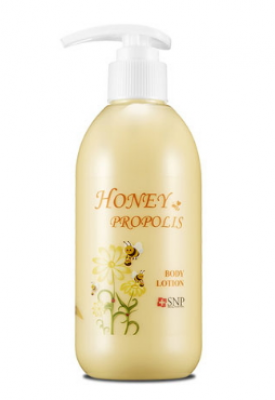 Лосьон для тела SNP Honey&propolis body lotion 250 мл: фото