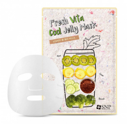 Маска для лица SNP Fresh vita cool jelly mask 25 мл: фото