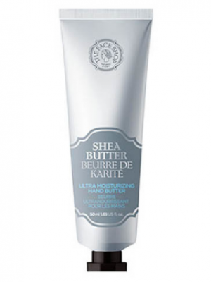 Масло для рук THE FACE SHOP Shea butter ultra moisturizing hand butter 50 мл: фото