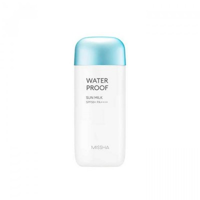 Солнцезащитное водост. молочко '18MISSHA All Around Safe Block Water Proof Sun Milk SPF50+/PA_70ml: фото