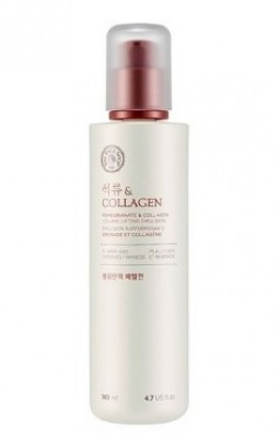 Эмульсия с эффектом лифтинга THE FACE SHOP Pomegranate and collagen volume lifting emulsion 140 мл: фото