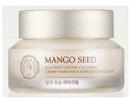 Крем для век с семенами манго THE FACE SHOP Mango seed silk moisturizing eye cream 30 мл: фото