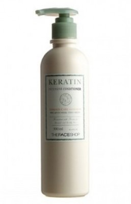 Шампунь для волос THE FACE SHOP Keratin intensive shampoo 300 мл: фото