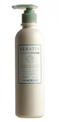 Кондиционер для волос THE FACE SHOP Keratin intensive conditioner 300 мл: фото