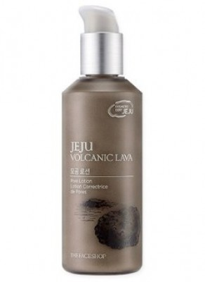 Лосьон для сужения пор THE FACE SHOP Jeju volcanic lava pore lotion 130мл: фото
