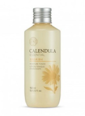 Тонер для лица с экстрактом календулы THE FACE SHOP Calendula essential moisture toner 150 мл: фото
