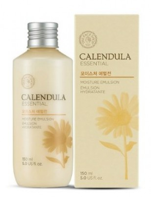 Эмульсия для лица с экстрактом календулы THE FACE SHOP Calendula essential moisture emulsion 150 г.: фото