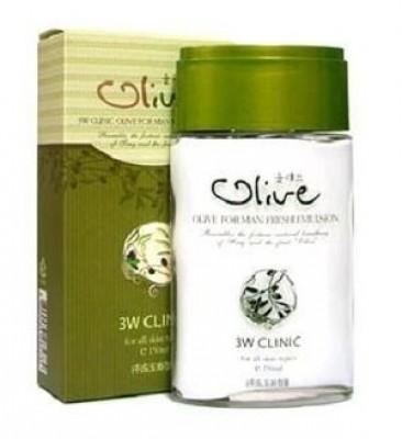 Эмульсия для мужчин c экстрактом оливы 3W CLINIC Olive For Man Fresh Emulsion 150мл: фото