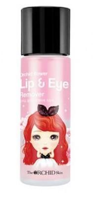 Средство для снятия макияжа с глаз и губ THE ORCHID SKIN Lip&Eye Remover 100мл: фото