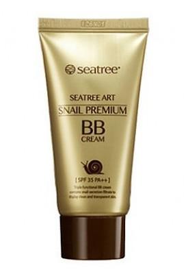 ВВ-крем с улиткой премиум класса SEANTREE Snail Premium BB Cream SPF35 50г: фото