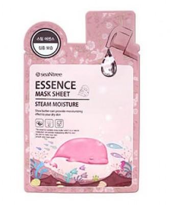 Увлажняющая маска с паровой эмульсией SEANTREE Steam moisture essence mask sheet: фото