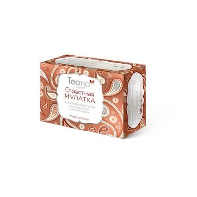 Натуральное мыло для сухой кожи лица и тела с маслом карите TEANA 100г: фото