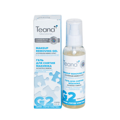 Гель для снятия макияжа с лактоферрином TEANA 125мл: фото