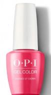 Гель для ногтей OPI ICONIC Charged Up Cherry GCB35 15 мл: фото