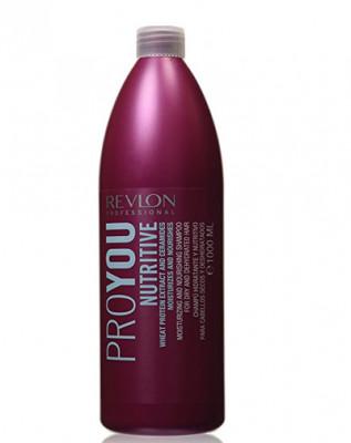 Шампунь для волос увлажняющий и питающий Revlon Professional, Pro You NUTRITIVE 1000 мл: фото