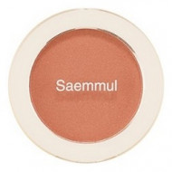Румяна THE SAEM Saemmul Single Blusher BE02 Flash Beige 5гр: фото