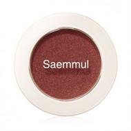 Тени для век мерцающие THE SAEM Saemmul Single Shadow Shimmer BR04 2гр: фото