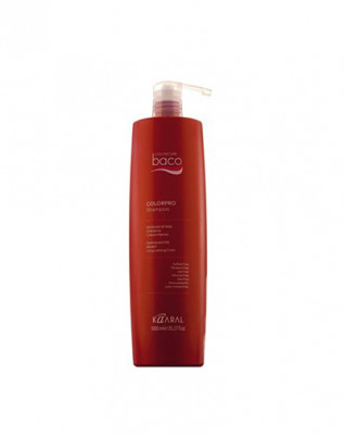Шампунь с гидролизатами шелка и кератином Kaaral Baco color collection Colorpro Shampoo 1000мл: фото