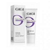 Маска пептидная очищающая глиняная для жирной кожи GIGI Nutri-Peptide Purifying Clay Mask Oily Skin 50 мл: фото