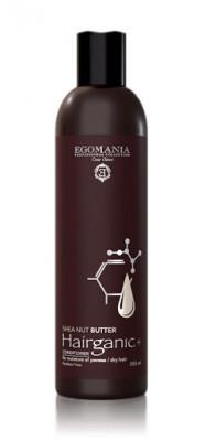 Кондиционер с маслом ши для увлажнения пористых, сухих волос Еgomania Hairganic+ 250мл: фото