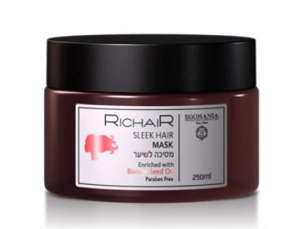 Маска для гладкости и блеска волос Egomania RicHair 250 мл: фото