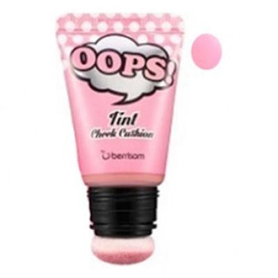 Румяна-тинт для лица Berrisom OOPS Tint Cheek Cushion_Sugar Pink 20мл: фото