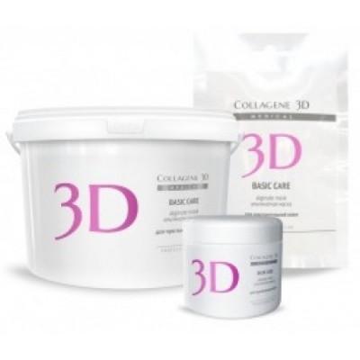Альгинатная маска для лица и тела Collagene 3D BASIC CARE с розовой глиной 30 г: фото