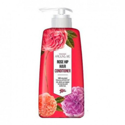 Кондиционер для волос Welcos Around me Rose Hip Hair Conditioner 500мл: фото