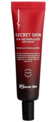 Крем для глаз со змеиным ядом Secret Skin Syn-ake Wrinkleless Eye Cream 30г: фото