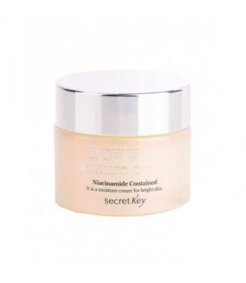 Крем для лица увлажняющий, осветляющий SECRET KEY Snow White Moisture Cream 50гр: фото