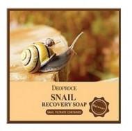 Мыло с улиточным муцином DEOPROCE SOAP SNAIL 100г: фото