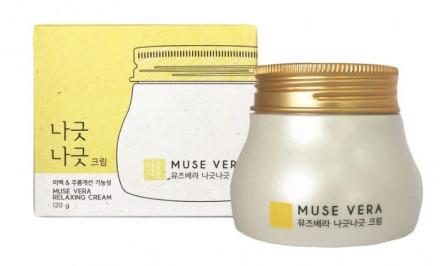 Крем для лица расслабляющий с медом и молоком DEOPROCE MUSEVERA RELAXING CREAM 120г: фото