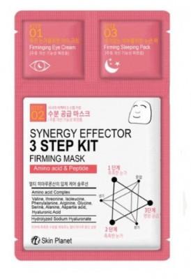 Трехшаговый комплекс укрепляющий Mijin Skin Planet synergy effector 3step kit FIRMING MASK 25гр/2мл/1,5мл: фото