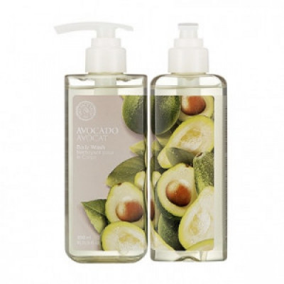 Гель для душа с авокадо The Face Shop Avocado Body Wash 300 мл: фото