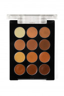Палетка корректоров восковых, 12 цветов Make-Up Atelier Paris P12C/COR смуглая кожа: фото