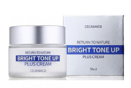 Крем улучшающий тон кожи CELRANICO RETURN TO NATURE BRIGHT TONE UP PLUS CREAM 50 мл: фото