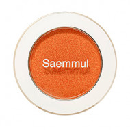 Тени для век мерцающие The Saem Saemmul Single Shadow Shimmer OR06 Purity Orange 2гр: фото