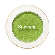 Тени для век мерцающие The Saem Saemmul Single Shadow Shimmer GR03 Sweet & Sour Lime 2гр: фото